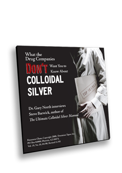 What Drug Companies Wont Tell You About Colloidal Silver